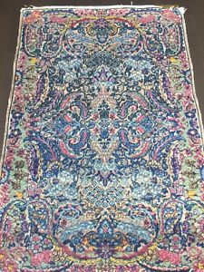 lowered $$: Authentic PERSIAN Kerman Rug (1920s or 1930s)
