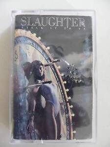 SLAUGHTER STICK IT TO YA AUDIO CASSETTE TAPE Alberton Port Adelaide Area Preview