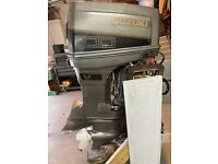 Suzuki DT100 100hp V4  Outboard Boat Motor 1990 Model LOCAL PICK UP .MICHIGAN