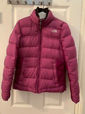 The North Face Purple Crimptastic Hybrid Alpine Stretch 600 Down Jacket Coat S