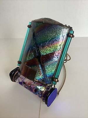 "Sue Rioux 2019 ""Splash"" kaleidoscope. Signed BEAUTIFUL!"