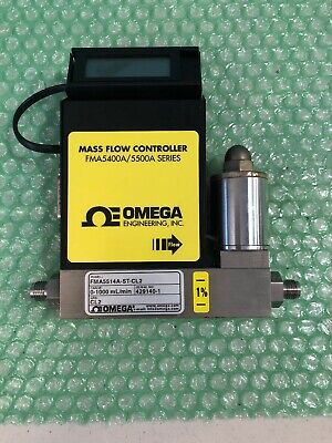 Omega Fma5514a-st-cl2 With Mass Flow Controller Fma5400a5500a Series
