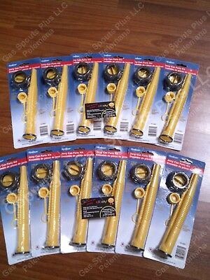 12pk Scepter Gas Can Spouts Vent Kit Moeller Midwest American Igloo Eagle Reda