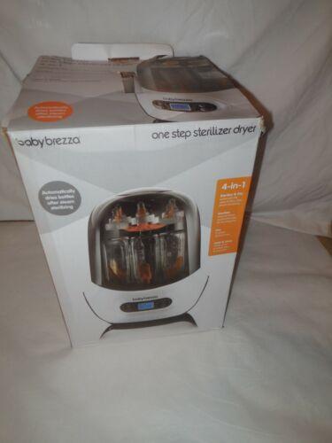 Baby Brezza BRZ0098 Bottle Sterilizer Dryer Machine Electric Steam White