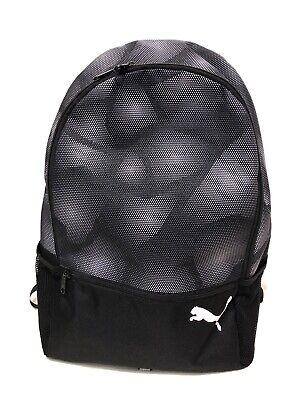 Puma Black And White Backpack Rucksack Bag