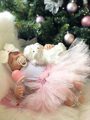 """Reborn lifelike dolls 20"""" Baby Girl Gift UK"""