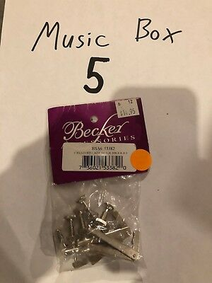 Becker BSA6 Cello String Adjuster, Hook Style 4-Pack fits 4/4 and 3/4