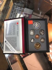 1993 Canadian proof coin set