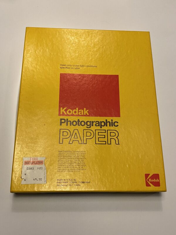 Kodak 180 8955 F Panalure II RC Photographic Paper - 100 Sheets 8x10 - Sealed