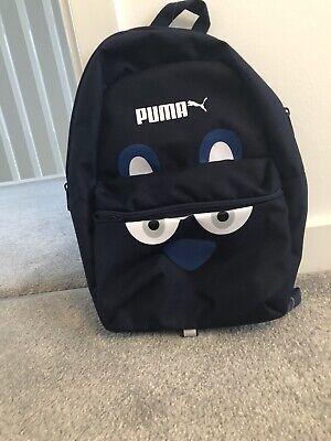 Puma Monster Kids Blue Peacoat backpack