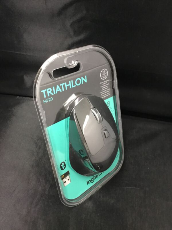 AUTHENTIC LOGITECH M720 TRIATHLON MOUSE (910-004790) BRAND NEW