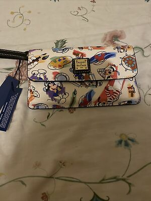 Brand New With Tag Disney Dooney and Bourke ink and paint Cruise Line Wrislet