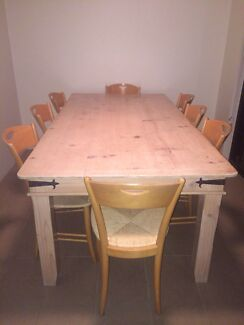 8 seater table and chairs North Bondi Eastern Suburbs Preview