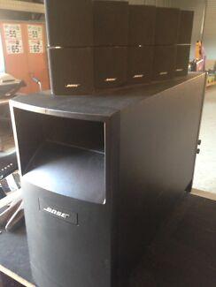 Bose lifestyle surround sound system