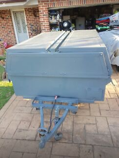 Camping trailer tradie trademans trailer Glenmore Park Penrith Area Preview
