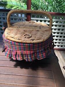 Wicker picnic basket with cups/cutlery included! Hornsby Hornsby Area Preview