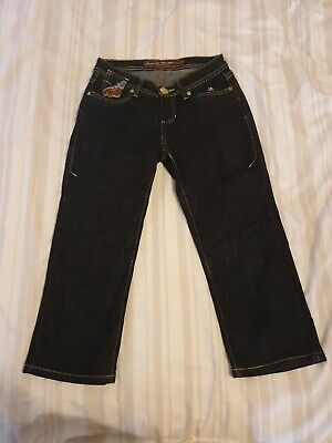 Apple Bottom Cropped Jeans 26 inch waist. Size USA 1/2 (UK 4 -6)