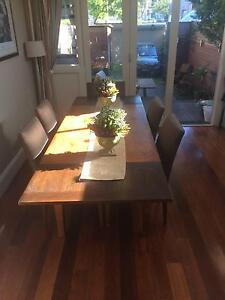 Complete 10-seat Dining Table & 6 fabric elegant Chairs Crows Nest North Sydney Area Preview