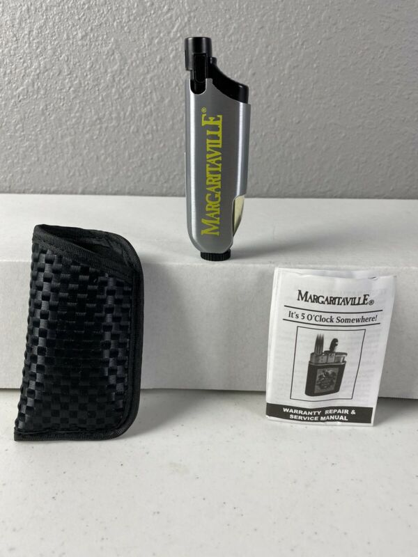 Margaritaville Cigarette Lighter With Case NWT