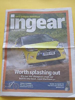 Citroen DS3 Newspaper Article (The Times Ingear Magazine DSport)