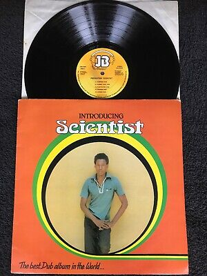 Introducing Scientist - The Best Dub Album In The World Vinyl LP JB 1980 1st