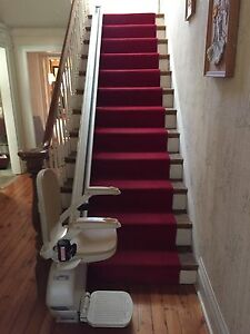 Stair lift. 12 step