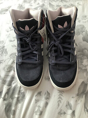 Women's Adidas High Top Trainers Size 5 UK 38 EUR