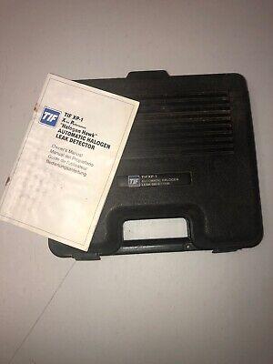 Tif Halogen Leak Detector Tifxp-1 Hard Plastic Case Instruction Book Used