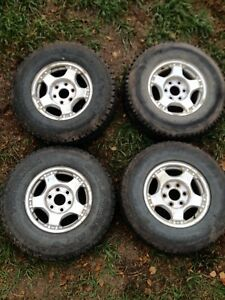 GM rims and tires