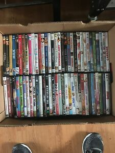 Lot of 117 DVDs