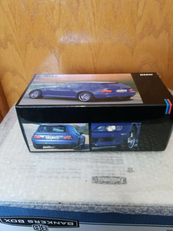 BMW M coupe exclusive Authentic model of the bmw m coupe 1:18 scale