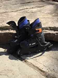 Bauer roller blades - youth size 11