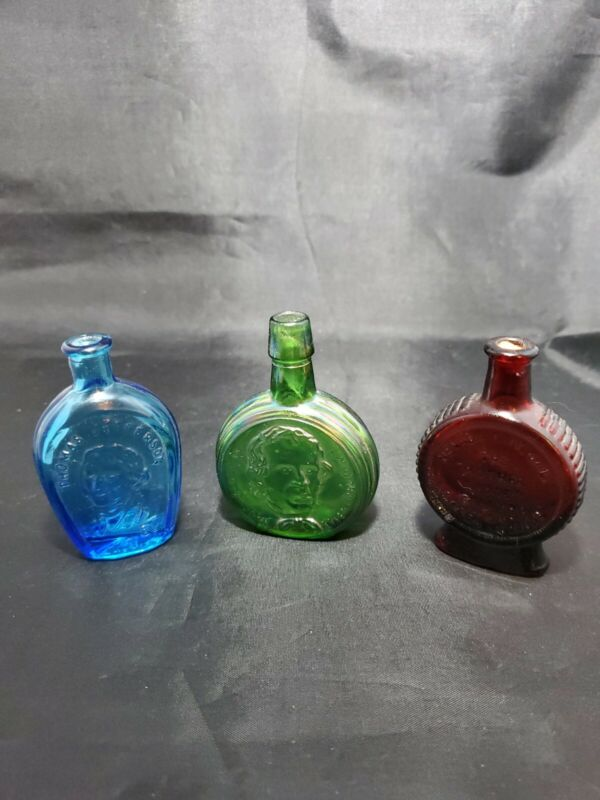 3 Little Wheaton Collector Bottles