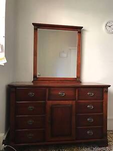 Dressing table with mirror and Bed side tables North Wollongong Wollongong Area Preview