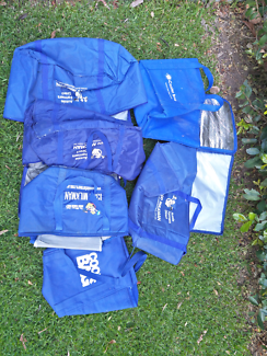 Esky cooler bags x 6
