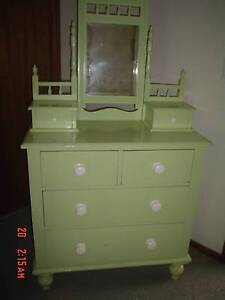Antique duchess dresser / dressing table / chest of drawers Encounter Bay Victor Harbor Area Preview
