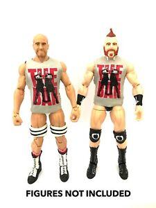 WWE-Sheamus-amp-Cesaro-039-The-Bar-039-Custom-Shirts-For-Mattel-Figures