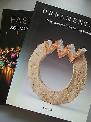 2 Bücher Ornamenta 1 Internationale Schmuckkunst + Faszination Schmuckwelten