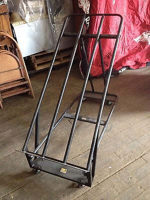 European-style Steel Display Stand Produce Folding Mobile Rack - Msrp 279.00