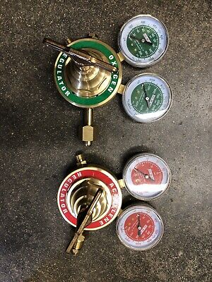 Oxygen Acetylene Regulator Set Heavy Duty For Victor Cuttingwelding Regulators