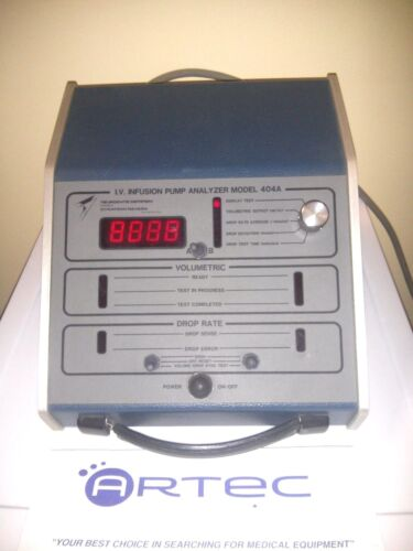 DYNATECH  I.V.  INFUSION PUMP ANALYZER MODEL 404A