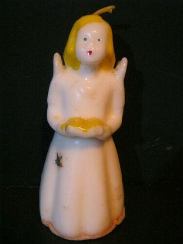 ANTIQUE - CHRISTMAS ANGEL - CANDLE- SOCONY-VACUUM OIL COMPANY