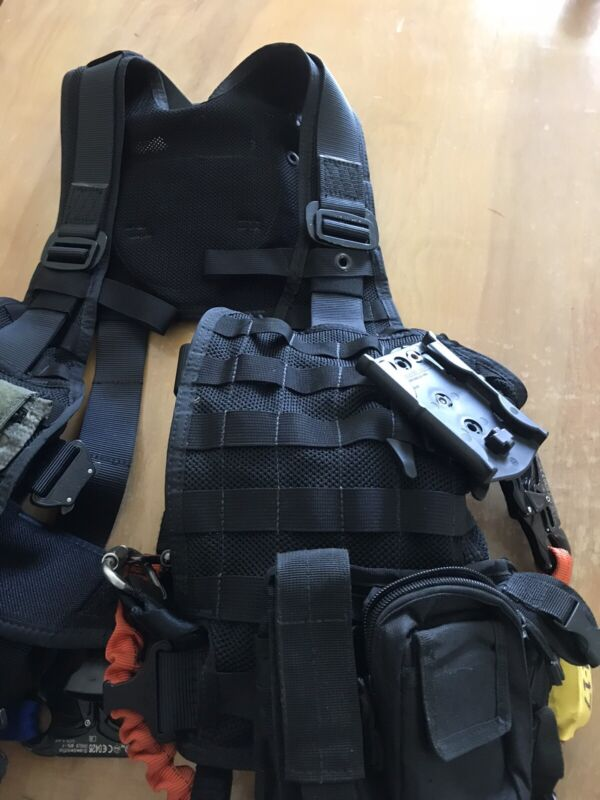 Molle Tactical Rescue Harness / Helicopter & Aviation Rescue Vest.  Hoist Rescue