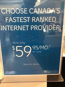 Bell Internet-Price Has low has $60 per month—No Contract