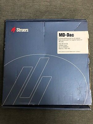 Struers Md-dac 200 Mm Cloth For Univeral Polishing All Materials - 5 Pcs Box