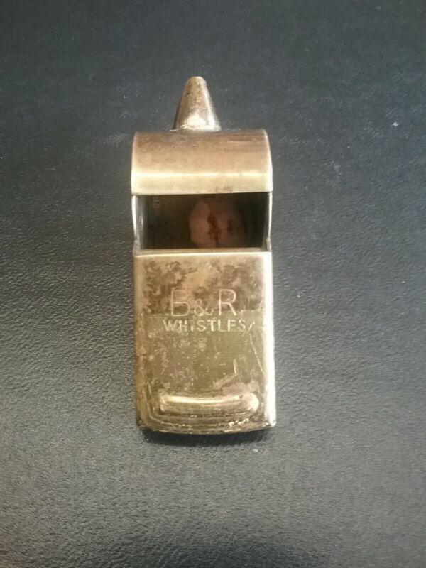 Vintage B&R Brass Whistle - Japan