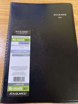 At A Glance G47000 Monthly Planner 12x8 2020-2021