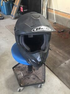 HJC dirt bike helmet