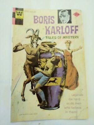 Boris Karloff Tales of Mystery #59 / GOOD CONDITION / Gold Key Comics