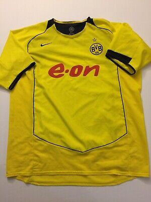 Borussia Dortmund jersey XXL 2004 2005 shirt soccer football Nike 90 image